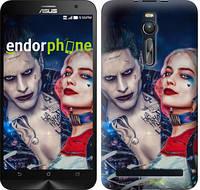 """Чехол на Asus Zenfone 2 ZE551ML Джокер и Харли Квинн """"3802c-122"""""""