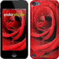 """Чехол на iPod Touch 6 Красная роза """"529c-387"""""""