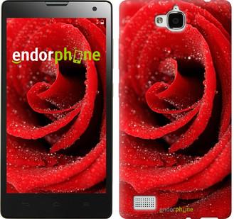 """Чехол на Huawei Y6 Pro Красная роза """"529u-355"""""""