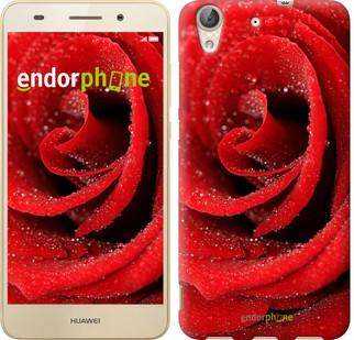 """Чехол на Huawei Y6 II Красная роза """"529u-338"""""""