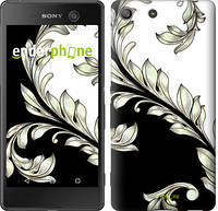"Чехол на Sony Xperia M5 White and black 1 ""2805u-217"""