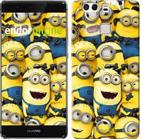 "Чехол на Huawei P9 Plus Миньоны 8 ""860u-300"""