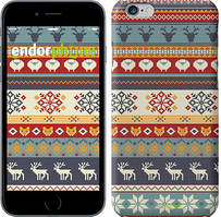 "Чохол на iPhone 6 Різдвяний орнамент ""3303c-45"""