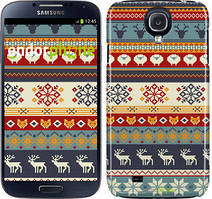"Чохол на Samsung Galaxy S4 i9500 Різдвяний орнамент ""3303c-13"""
