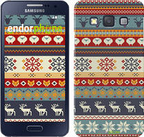 "Чохол на Samsung Galaxy A3 A300H Різдвяний орнамент ""3303c-72"""