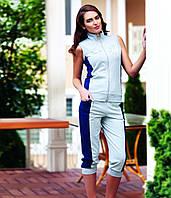Спортивный костюм PM-21739 (синие вставки)