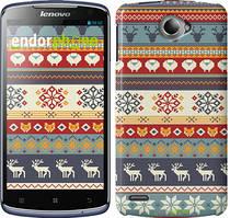 """Чохол на Lenovo S920 Різдвяний орнамент """"3303c-53"""""""