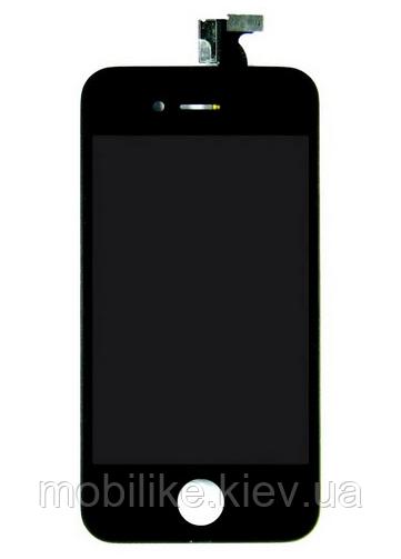 Дисплей с сенсорным экраном iPhone 4S черный