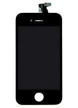 Дисплей з сенсорним екраном iPhone 4S чорний