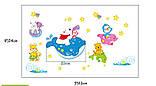Дитячі наклейки на стіни, для дитячого садка, дитячий (07184), фото 2