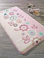 Коврик для ванной Confetti April Pink (Pembe) 55x57см