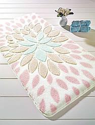 Коврик для ванной Confetti Essence L. Pink (P. Pembe) 55x57см