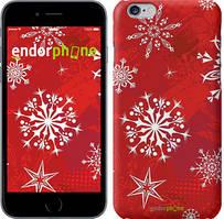 "Чохол на iPhone 6 Сніжинка 2 ""3312c-45"""