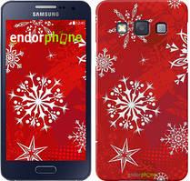 "Чохол на Samsung Galaxy A3 A300H Сніжинка 2 ""3312c-72"""