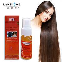 """Травяной тоник - эффективное средство против выпадения волос """"Ginseng herbal Hair Tonic"""" (30мл)."""