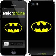 "Чехол на iPhone SE Бетмен логотип ""3201c-214"""