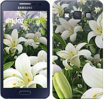 """Чохол на Samsung Galaxy A3 A300H Білі лілії """"2686c-72"""""""