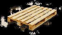 Поддон деревянный 800*1200мм., индустриал, сухой, новый