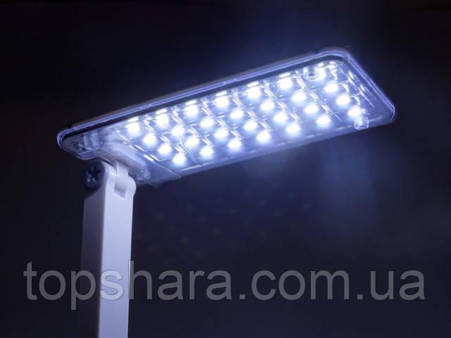 Настольная лампа KM-6682C  28 Led аккумуляторная 1000mAh