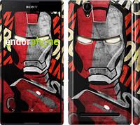 "Чехол на Sony Xperia T2 Ultra Dual D5322 Iron Man ""2764c-92"""