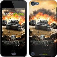"Чехол на iPod Touch 6 World of tanks v1 ""834c-387"""
