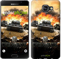 "Чехол на Samsung Galaxy A5 (2016) A510F World of tanks v1 ""834c-158"""