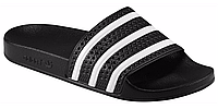 Тапки мужские Adidas Adilette dark black, фото 1
