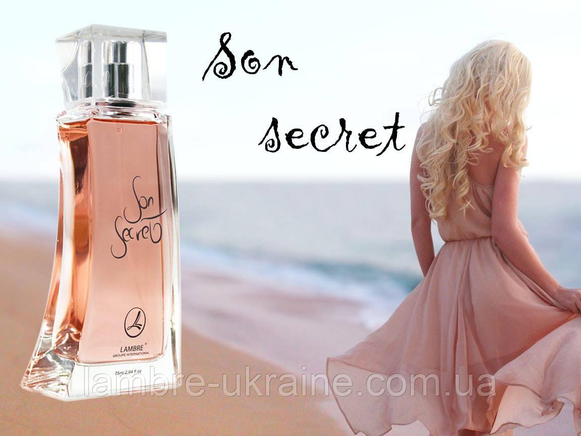 Son secret - эксклюзивная парфюмированная вода от Ламбре - 75ml