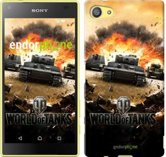 """Чехол на Sony Xperia Z5 Compact E5823 World of tanks v1 """"834u-322"""""""