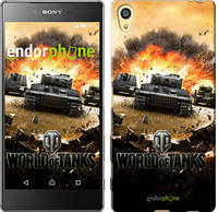 "Чехол на Sony Xperia Z5 World of tanks v1 ""834u-274"""