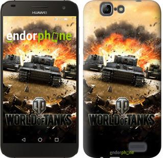 "Чехол на Huawei Ascend G7 World of tanks v1 ""834u-147"""