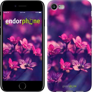 """Чехол на iPhone 7 Пурпурные цветы """"2719c-336"""""""