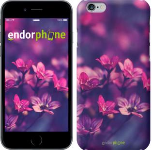 """Чехол на iPhone 7 Plus Пурпурные цветы """"2719c-337"""""""