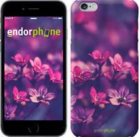 """Чохол на iPhone 6 Пурпурні квіти """"2719c-45"""""""