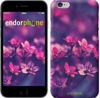 """Чехол на iPhone 6s Пурпурные цветы """"2719c-90"""""""