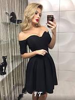 Женское платье верх-корсет на чашке с косточками