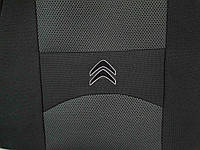 Чехлы тканевые для Citroen Jumpy 1+2 (передние) 2007- г.