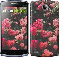 """Чохол на Lenovo S920 Кущ з трояндами """"2729c-53"""""""