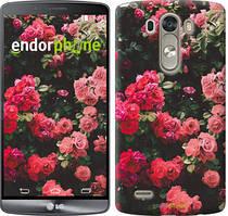 """Чохол на LG G3 D855 Кущ з трояндами """"2729c-47"""""""