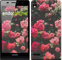 """Чохол на Huawei Ascend P6 Кущ з трояндами """"2729c-39"""""""