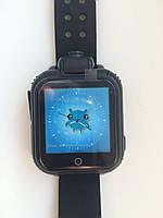 Дитячі розумні gps годинник Smart baby watch Q200(GW1000) 3G+камера Black Оригінал російською мовою, фото 3