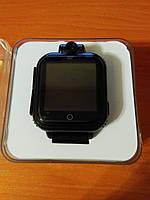 Дитячі розумні gps годинник Smart baby watch Q200(GW1000) 3G+камера Black Оригінал російською мовою, фото 4