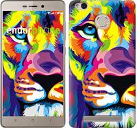 "Чехол на Xiaomi Redmi 3 Pro Разноцветный лев ""2713c-341"""