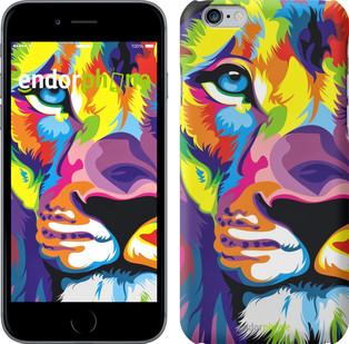 "Чехол на Xiaomi Mi Max Разноцветный лев ""2713c-275"""