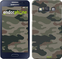 """Чохол на Samsung Galaxy A3 A300H Камуфляж v3 """"1097c-72"""""""
