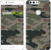 """Чехол на Huawei Honor 8 Камуфляж v3 """"1097u-351"""""""
