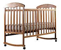 Детская кроватка Наталка Ясень Светлая
