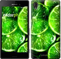 """Чехол на Sony Xperia C4 Зелёные дольки лимона """"852u-295"""""""