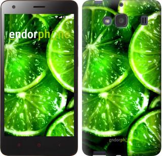 """Чехол на Xiaomi Redmi 2 Зелёные дольки лимона """"852c-98"""""""