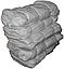 Мешки полипропиленовые упаковочные новые 105х55см 56гр на 50кг (ч/к/с полоса) СТАНДАРТ, фото 5